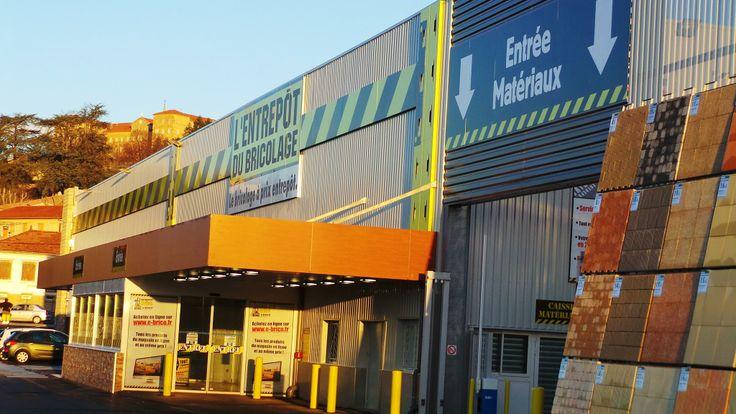 OUVERTURE du 1er magasin en Ardèche de l'Entrepôt du Bricolage !! La filiale du Groupe Samse ouvrira ses portes demain à Aubenas, nous lui souhaitons une belle réussite !! — à Aubenas.
