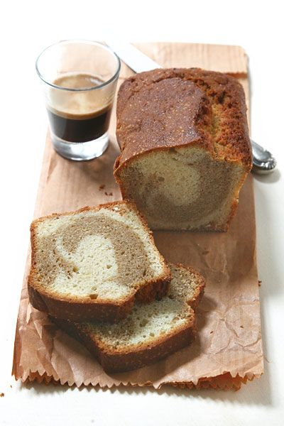 Torta alla ricotta con caffe' e grappa - Ricotta cheese cake with coffee and grappa