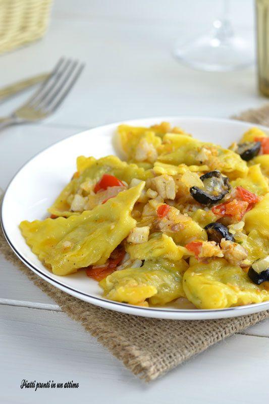 RAVIOLI AL BRANZINO: un piatto a cui non si può resistere!!!