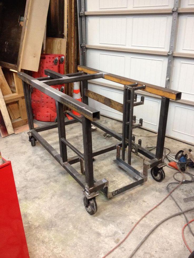 welding table build powerstrokearmy