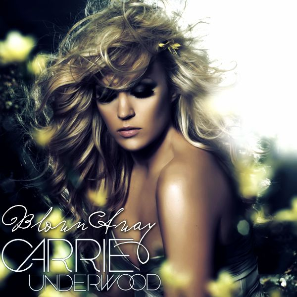 carrie underwood blown away. Love her hair and makeup