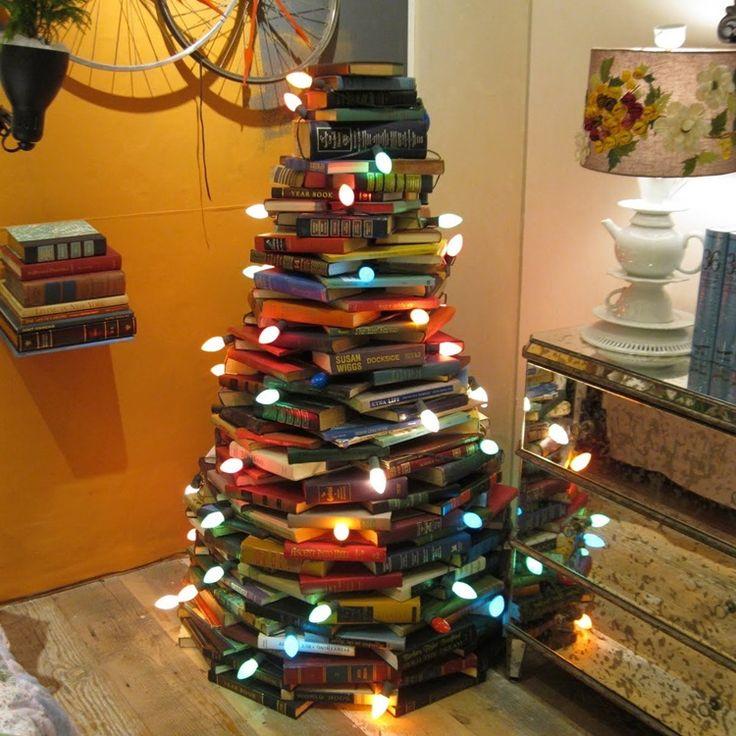 15 Unique and Creative Christmas Tree Ideas    - http://www.amazinginteriordesign.com/15-unique-creative-christmas-tree-ideas/