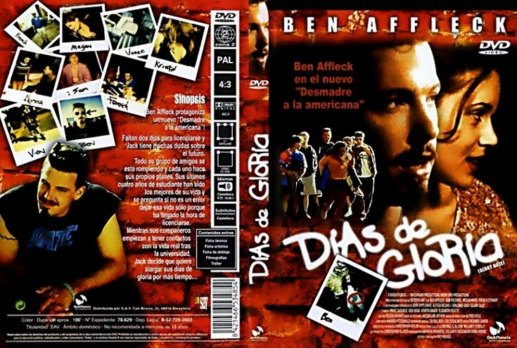 Película 𝗗𝗶𝗮𝘀 𝗱𝗲 𝗴𝗹𝗼𝗿𝗶𝗮[DVDRip][Castellano][Comedia][1996]