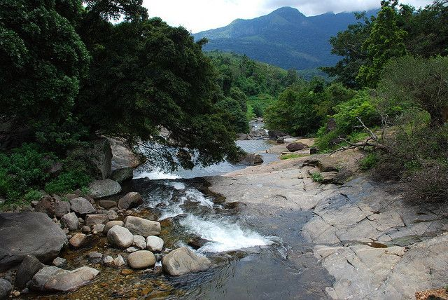 River, Knuckles Mountain Range, Central Province, Sri Lanka #SriLanka #Mountains #Knuckles