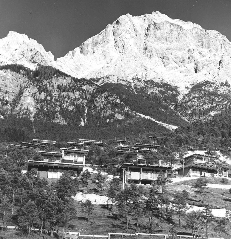 Colonia montana Eni di Borca di Cadore / Edoardo Gellner