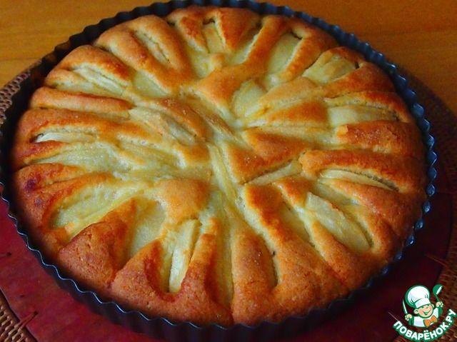 Грушево-яблочный пирог ингредиенты