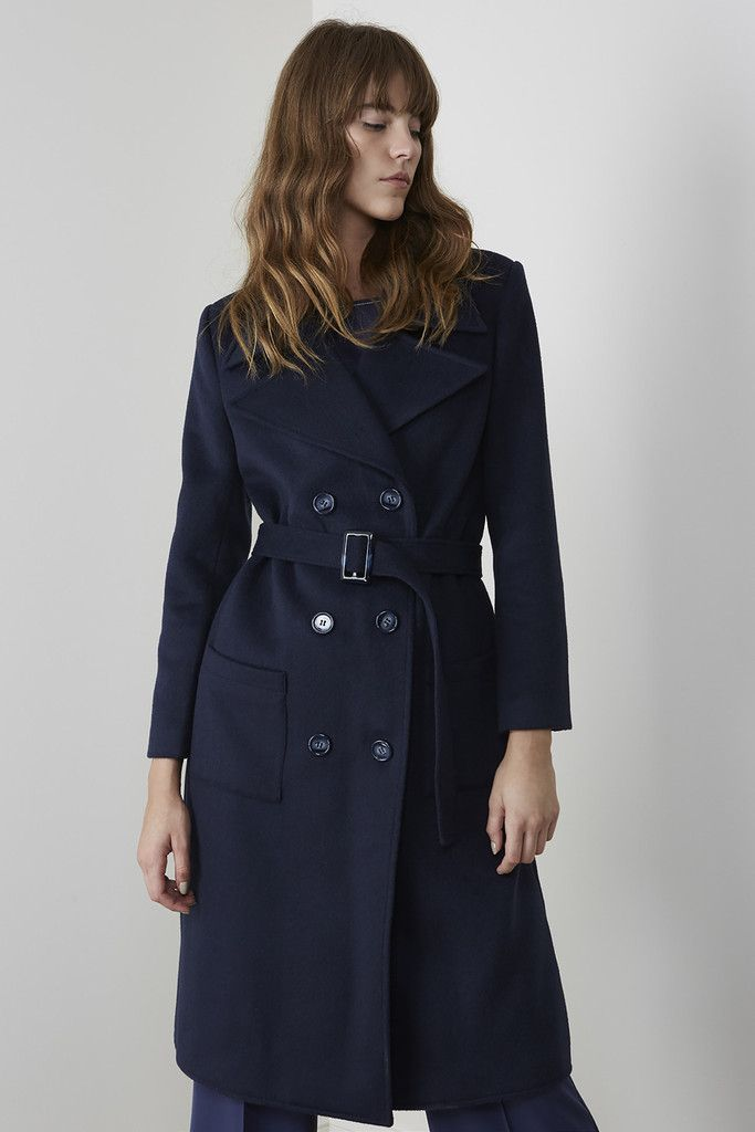 C-meo-collective - C/Meo Collective Talk That Coat - Navy