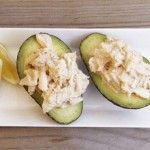 Admittedly kitschy, but so delicious. Crab and avocado is a wonderful combination, a bit luxurious but worth it for a special meal. Marie Rose Sauce (sometimes called 'Mary Rose'), very similar to Russian dressing, is said to have Irish origins. on goop.com. http://goop.com/recipes/avocado-crab-with-marie-rose-sauce/