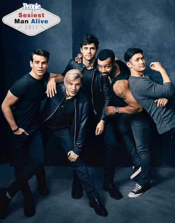 The men of Shadowhunters won the sexiest young adult idols in People magazines Sexiest Man Alive 2017