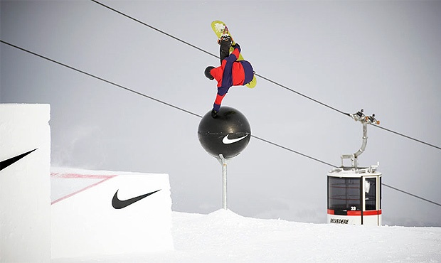nike + snowboarding= excellent