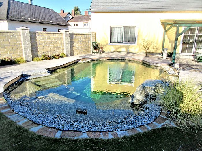 Schwimmteich Schwimmteich Natur Pool Naturschwimmbader