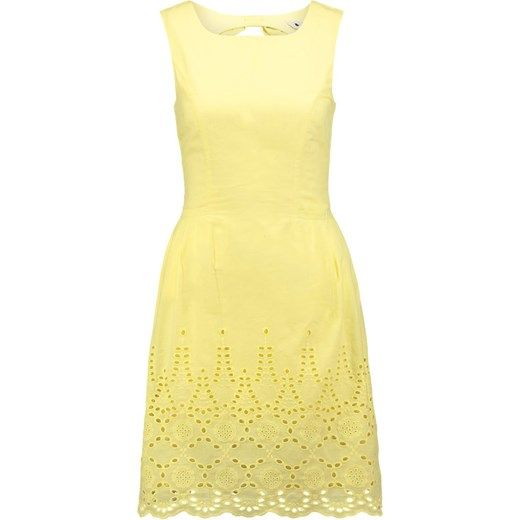Yumi Sukienka letnia yellow zalando zolty mini