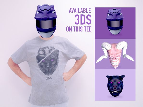 IMASCONO #augmentedreality experience. #Fashion collection: Be a hero. 3D Experience: Panther be a hero