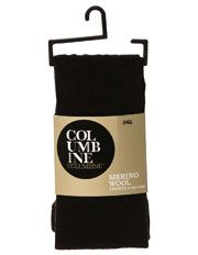 Columbine - Wool Tights 332MY in Black and Navy | Myer