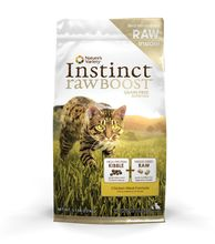 Nature's Variety Instinct Raw Boost Chicken Grain-Free Dry Cat Food 5lbs