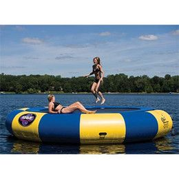 water trampoline 2M, 3M,5 M diameter PVC water jumping bed toy playing on the water summer inflatable toys