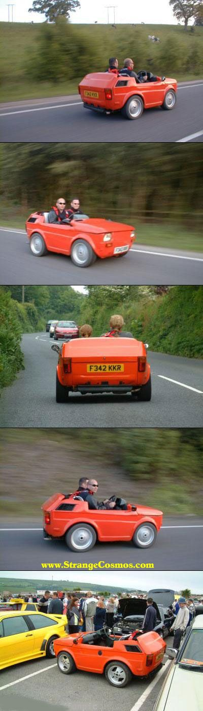 World's Smallest Cars~Haha so I'm dangerous in a normal sized car. This car would not be a good idea for me