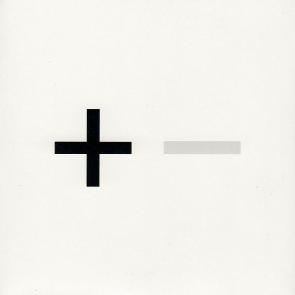 Plus and Minus designed by Peter Saville