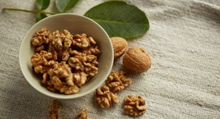 Crack open a walnut for superior tree nut nutrition. Oh, the walnut health benefits!