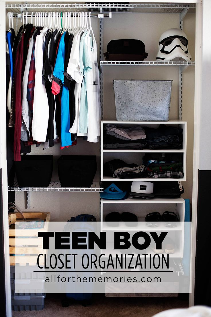 Teen boy closet organization and the art of the clothes roll with @rubbermaid ad #FreeYourClutter