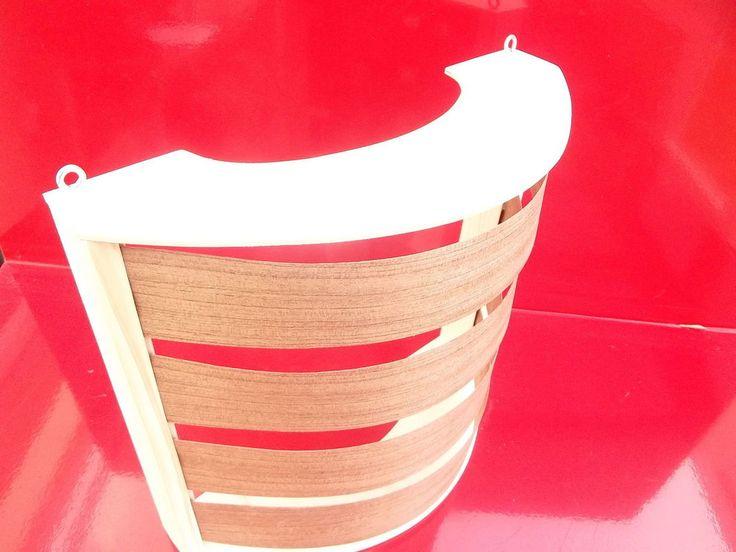 Sauna-lampenschirm Holzblendschirm Saunalampe Sauna Saunalicht Saunaleuchte