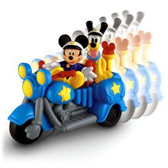 Mickey Mouse Clubhouse Mickeys Patrol Bike - Fisher-Price Online Toy Store