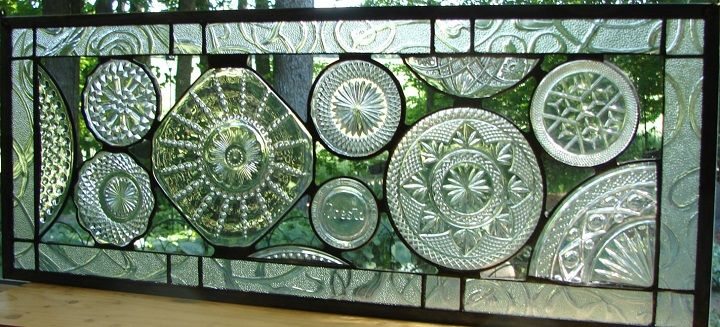 recycled glass art