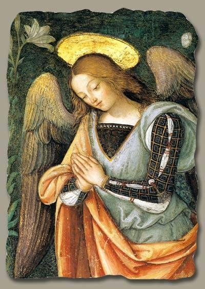 Il Pinturicchio (1454–1513) ~ Cappella Baglioni ~ Spello, Italy, particolare (detail) della natività