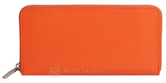Paperthinks  Tangerine Orange Long Wallet