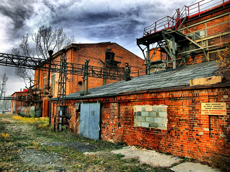 Niewiadom, kopalnia Old #mine in #Rybnik-Niewiadom, PL