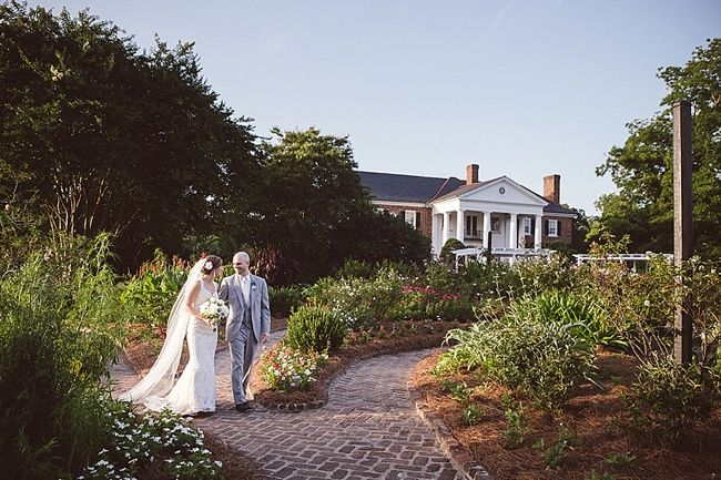 Our bride Brittany featured on @TheWeddingRow  wearing her Marisa wedding gown! @ameliaanddan Photography. #vintage #lace