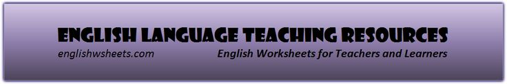 Grammar,Vocabulary Worksheets,Handouts,Tests,Puzzles