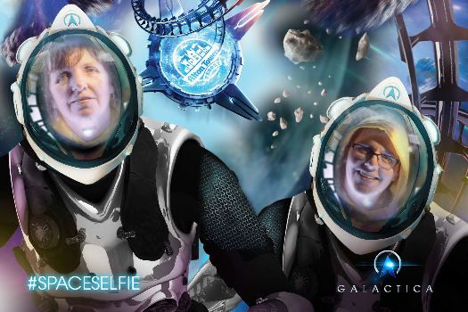 Check out my photo from Galactica at Alton Towers Resort!