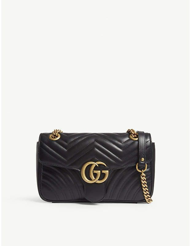ebb4a8db48fd Gucci Marmont leather shoulder bag #gucci #ShopStyle #MyShopStyle click  link for more information