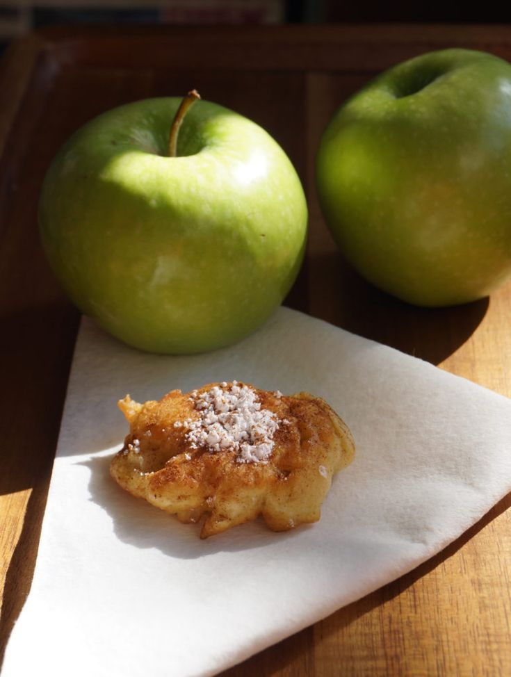 20-Minute Mini Apple Fritters with Granny Smith Apples - Weavers Orchard