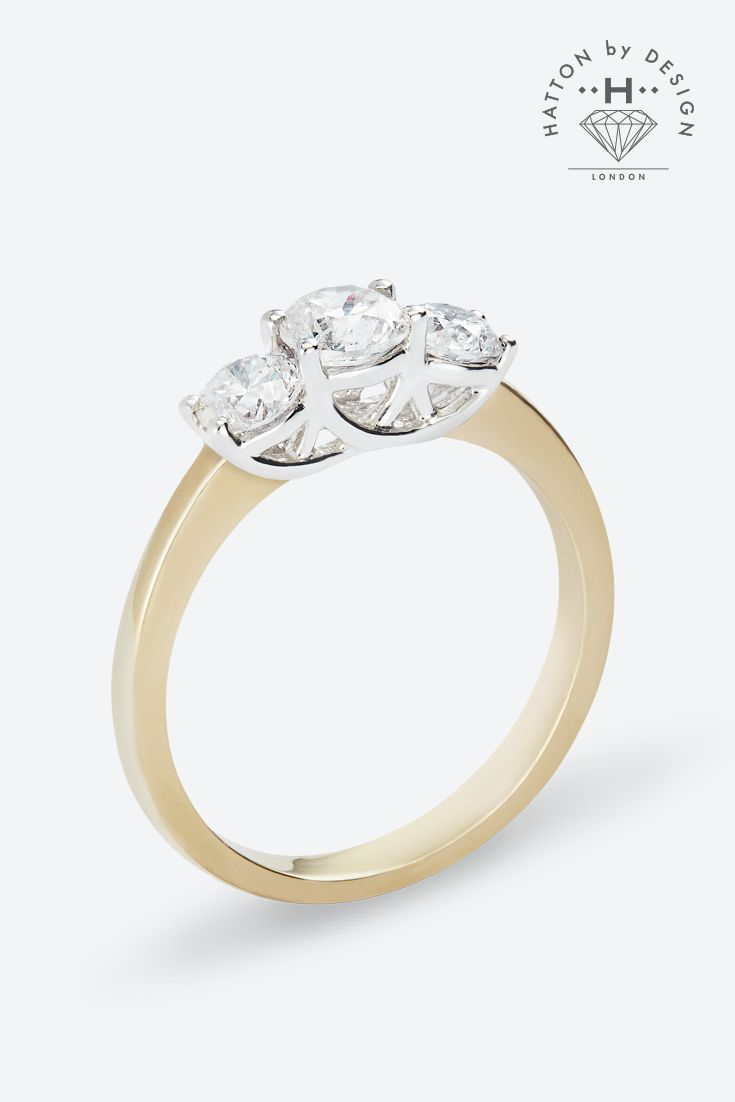 Design your own engagement ring at Hatton by Design.  Create your wish list and send it to him for inspiration.