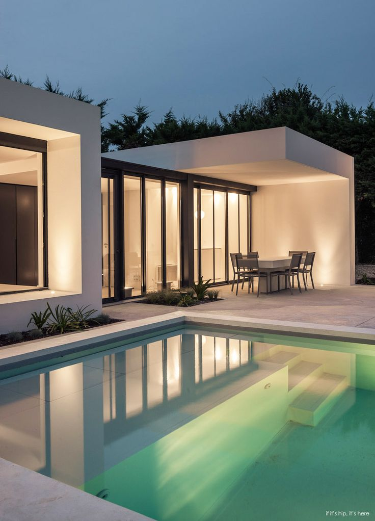 Best Poolhouses Images On Pinterest Pool Houses Architecture - Contemporary purity and simplicity pool villa by jm architecture italy