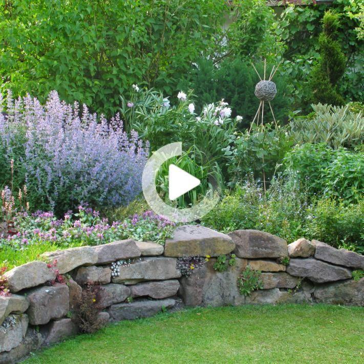 Trockenmauer In 2020 Backyard Garden Projects Backyard Projects
