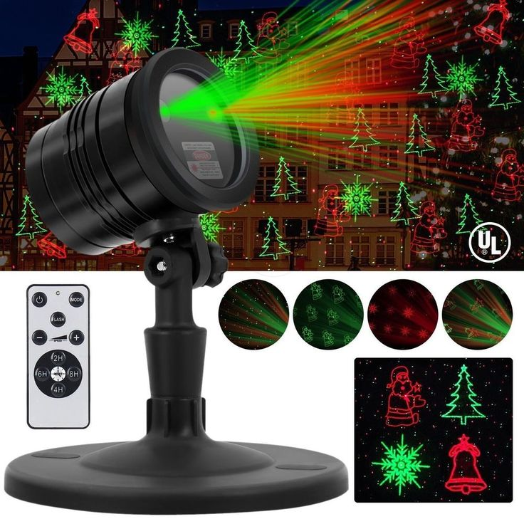 Christmas Laser Lights, Outdoor Waterproof Fairy Projector lights with Remote Re #Yuxi