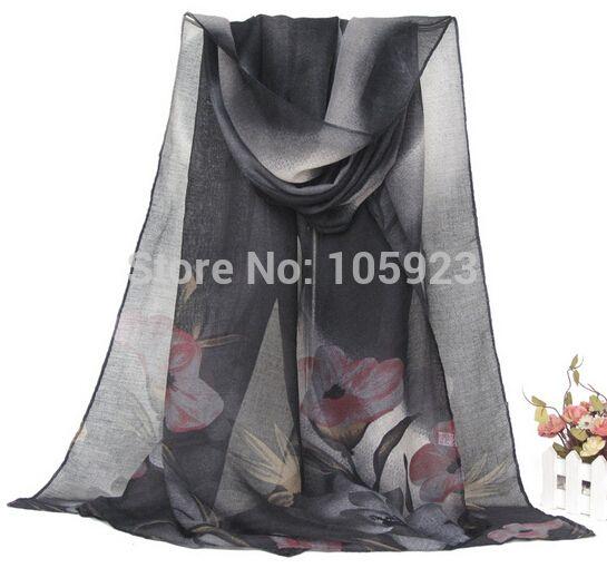 large shawl hijab long scarf  floral print scarf soft arabian scarf shawl  180cm X 90cm 12pcs/lot free ship
