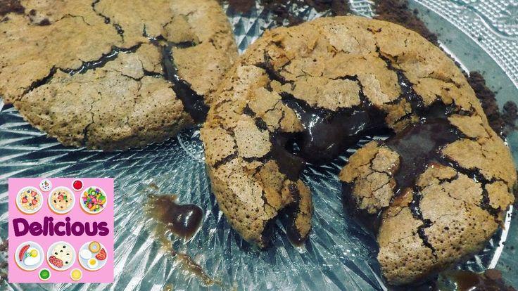 Homemade Lava Cake Recipe - How to make lava cake - Molten Chocolate Cak...