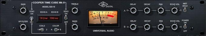 Cooper® Time Cube Mk II Delay Plug-In | Universal Audio