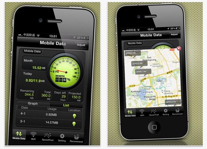 Como saber los megabytes consumidos en #iPhone y #iPad Data Usage