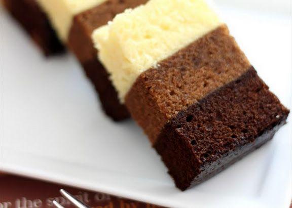 Mocha steamed cake