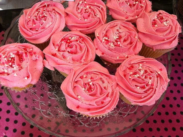 Scrumptious Cupcakes at the Real Food Market at Southbank Centre