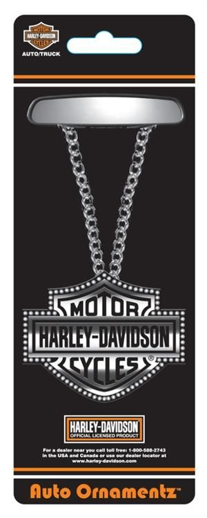 Harley DavidsonR Bar Shield Auto Ornament CG814