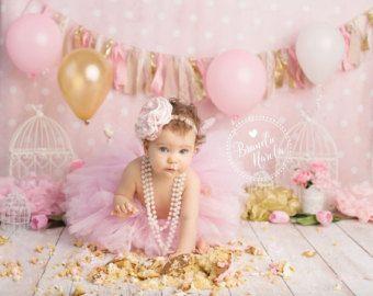 ropa smash Cake primera traje de por SweetAddictionShoppe en Etsy