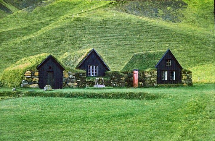 Icelandic Turf Houses <3