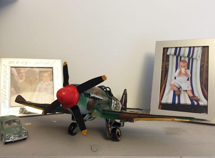 Photos bébés et avion
