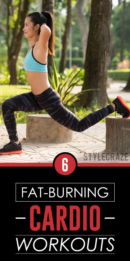 The following six workouts are great for cardio! They promise weight loss results sooner than imagined. Read on!